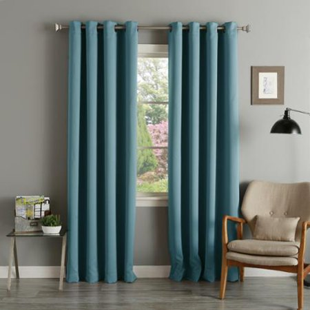 Aurora Home Teal Grommet Top Thermal Insulated Blackout