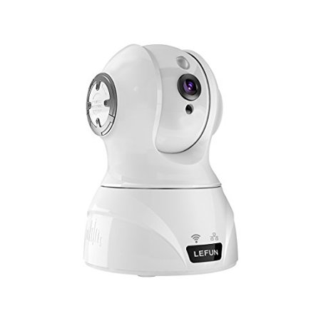 Wireless Camera, LeFun 1080p Security Camera WiFi Surveillance IP Camera  Nanny Cam with Remote Control Pan/Tilt/Zoom Motion Detect Two Way Audio  Night