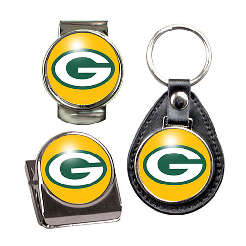 NFL - Green Bay Packers Key Chain, Money Clip and Magnet Clip