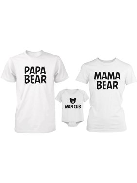61f19f97 Product Image Bear Family Family Matching Shirts and Bodysuit