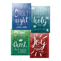 Card-Boxed-Let Us Adore Him Assorted Christmas (4 Designs) (KJV) (Box Of 12) (Sep)