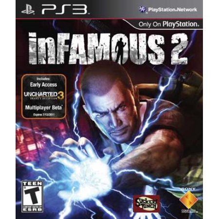 Infamous 2, Sony, PlayStation 3, 711719812524 (Cheat Codes For The Godfather 2 Ps3)