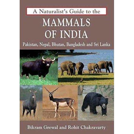 A Naturalists Guide To The Mammals Of India  Pakistan  Nepal  Bhutan  Bangladesh And Sri Lanka