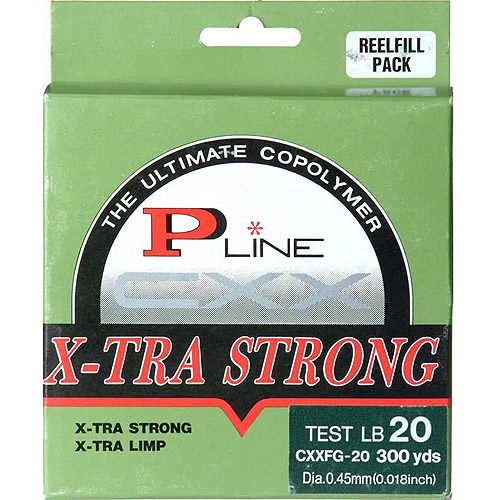 P-Line CXXFG Filler Spool Fishing Line, Moss Green by Generic