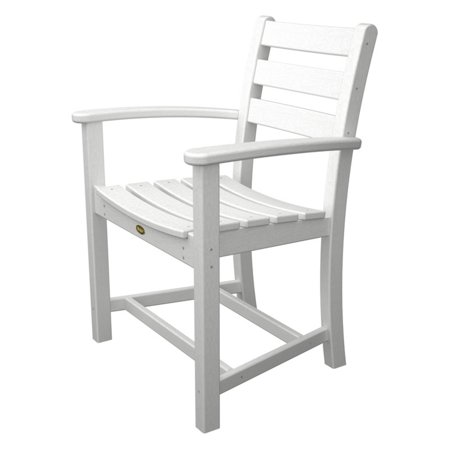 Trex Outdoor Furniture Recycled Plastic Monterey Bay Dining Arm Chair