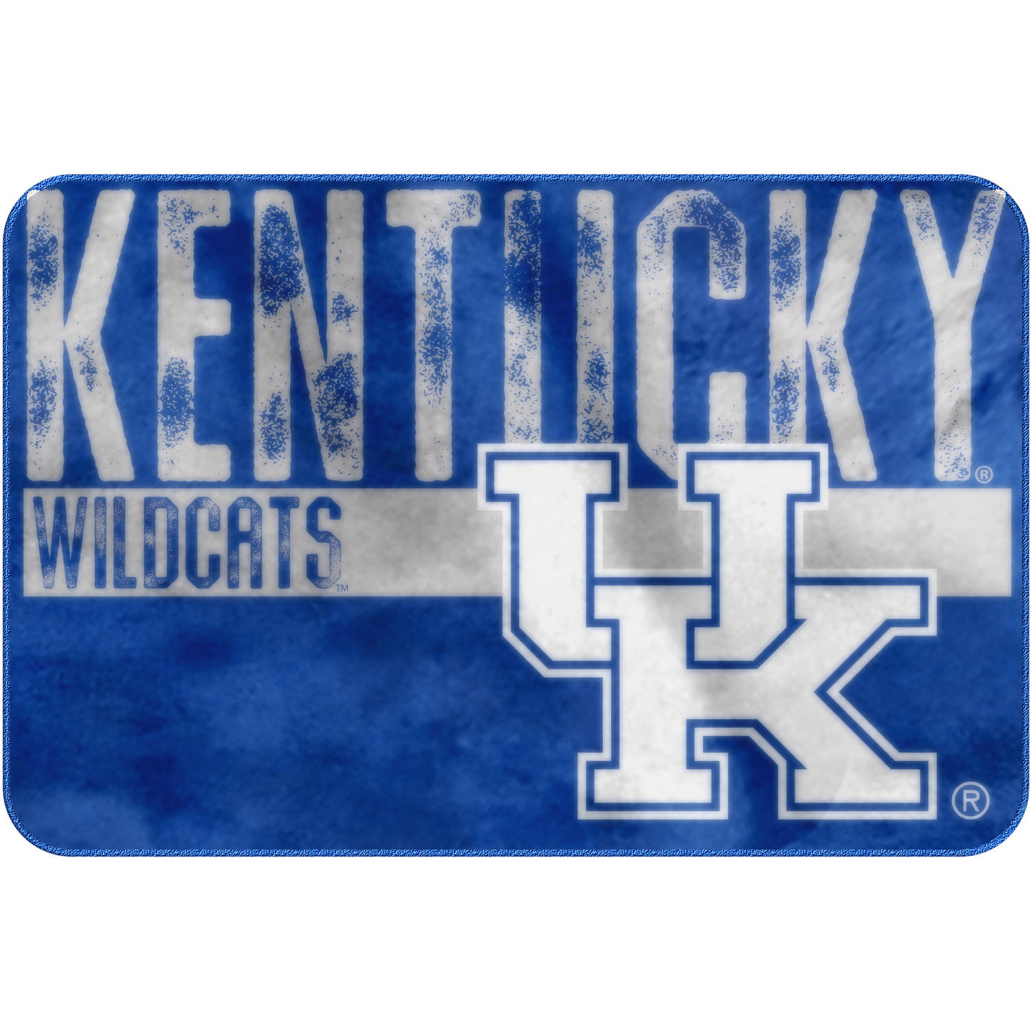 "NCAA Kentucky Wildcats ""Worn Out"" Mat, 20"" x 30"""