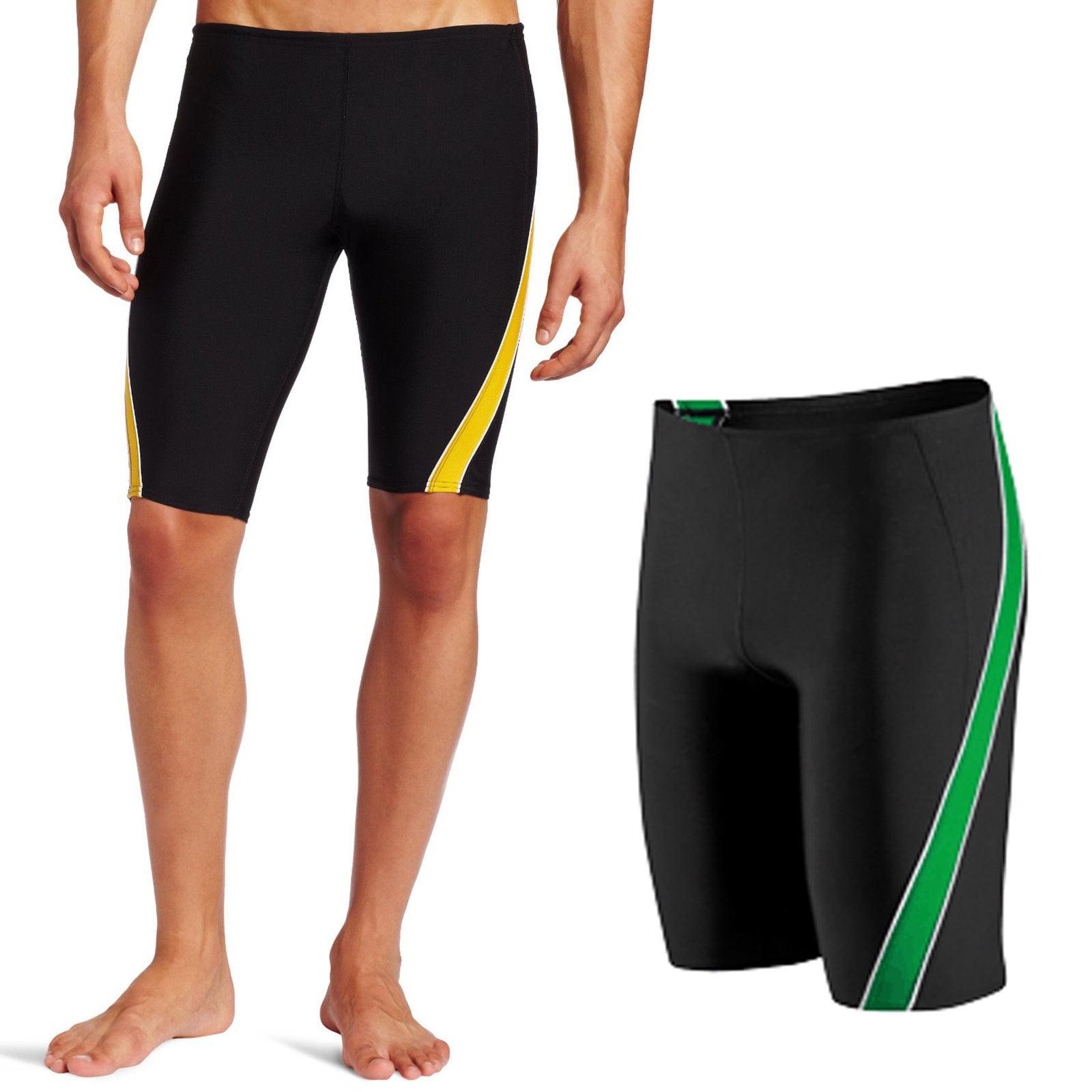 Speedo Men's Endurance+ Mercury Splice Swimsuit Trunk Jammer 8051224