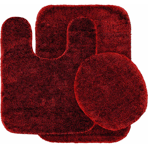 bath sets - Red And Black Print Bath Towels