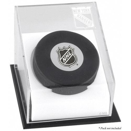 NHL - New York Rangers Hockey Puck Logo Display Case