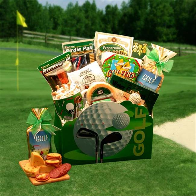 Gift Basket 85011 45.7 x 20.3 x 30.5cm Large Golf Delights Gift Box
