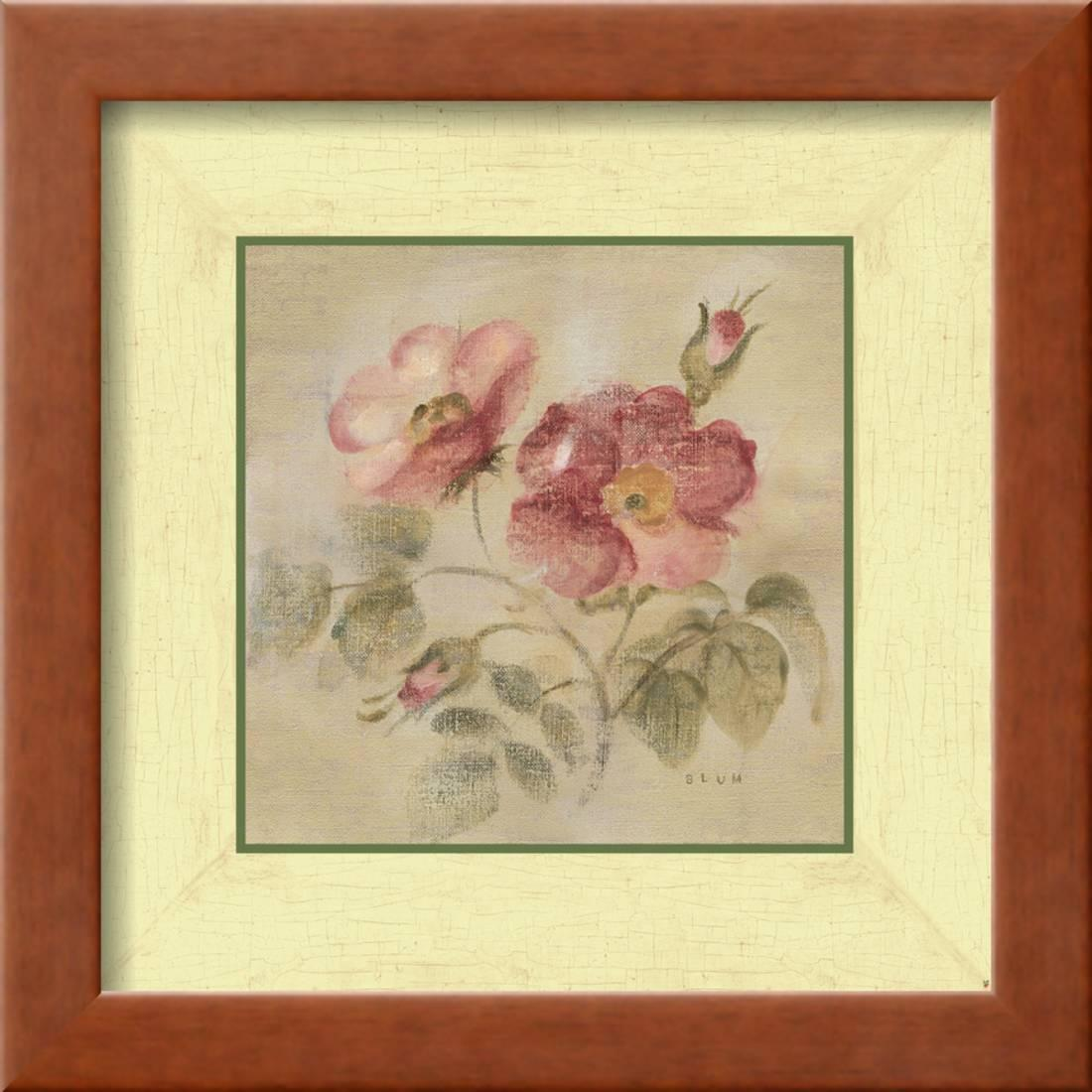 Burgundy Rose Framed Print Wall Art By Cheri Blum