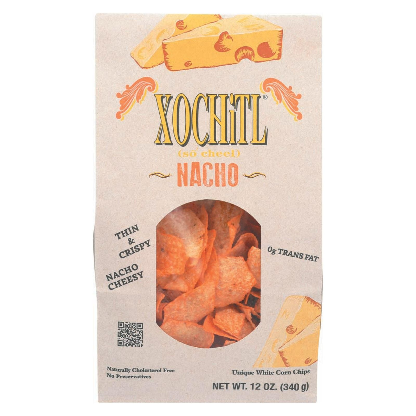 Xochitl Chips - Nacho Cheese - pack of 10 - 12 Oz