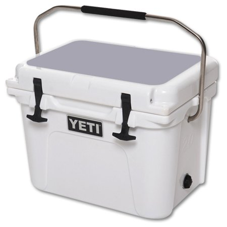 MightySkins Protective Vinyl Skin Decal for YETI Roadie 20 qt Cooler Lid wrap cover sticker skins Solid