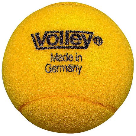 Sportime Volley Uncoated Foam Tennis Ball, Multiple Sizes, Yellow, 65 kg, Pack of 3 ()