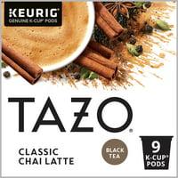 TAZO Chai Latte Black Tea K-Cup® Pods 9 Count