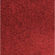 CROWN GS 0046CR Wiper Mat,Castellan Red,6 ft L x 4 ft W