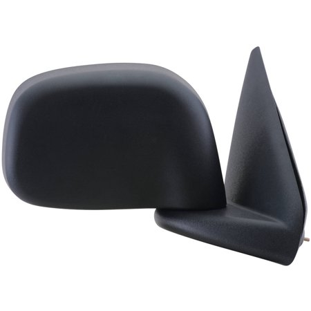 60105C - Fit System Passenger Side Mirror for 02-08 Dodge Ram Pick-Up 1500, 03-09 2500/3500 black, foldaway, w/o towing pkg, Heated Power