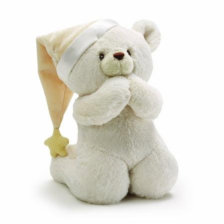 Baby Prayer Teddy Bear Musical Stuffed Animal Plush, 8
