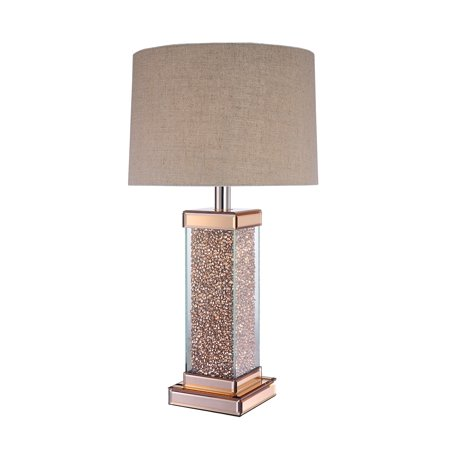 ACME Bunny Rose Gold Table Lamp with LED Light Bulb - Bunny Rocket