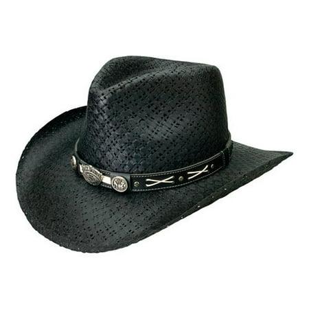 63b433e904b Jack Daniel s JD03-705 Cowboy Hat - Walmart.com