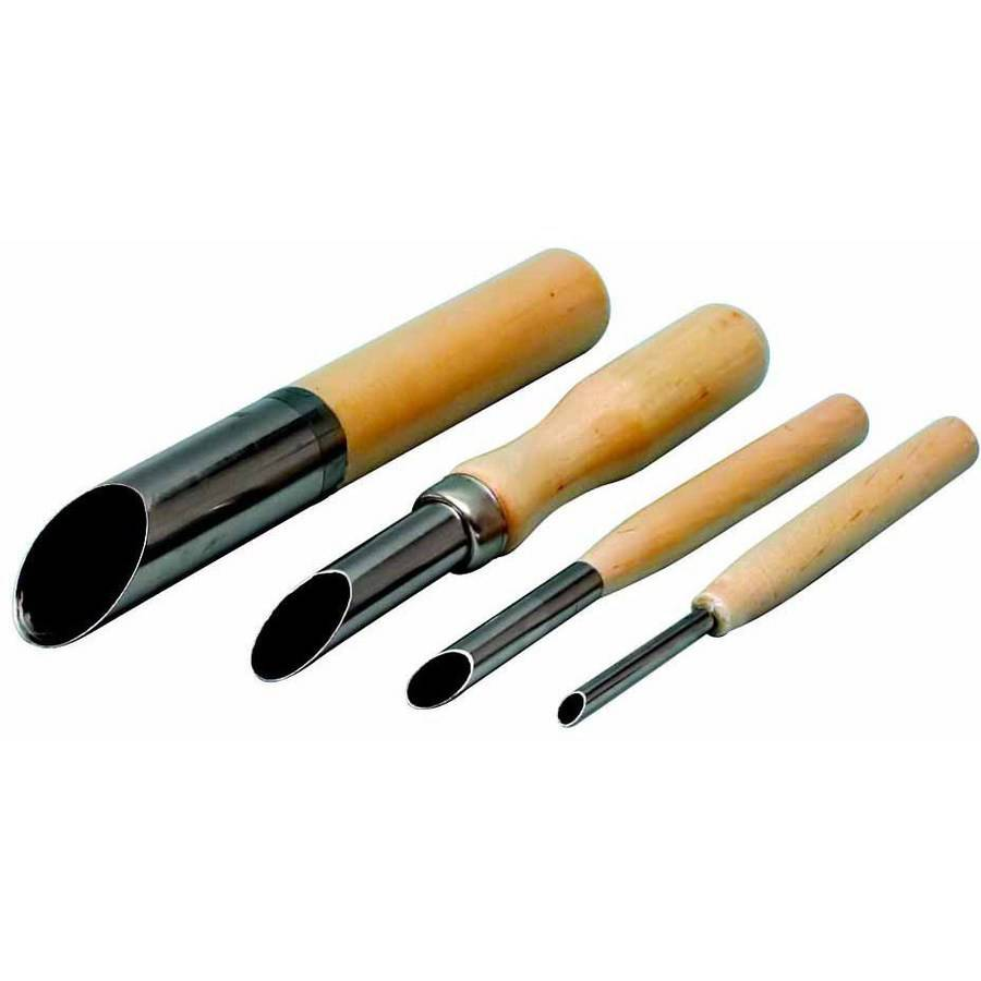Jack Richeson, Hole Cutting Clay Tools, Assorted Sizes, Set of 4