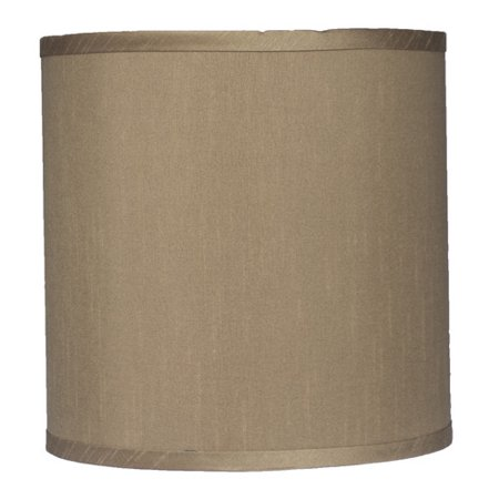 Urbanest Classic 10'' Faux Silk Drum Lamp Shade