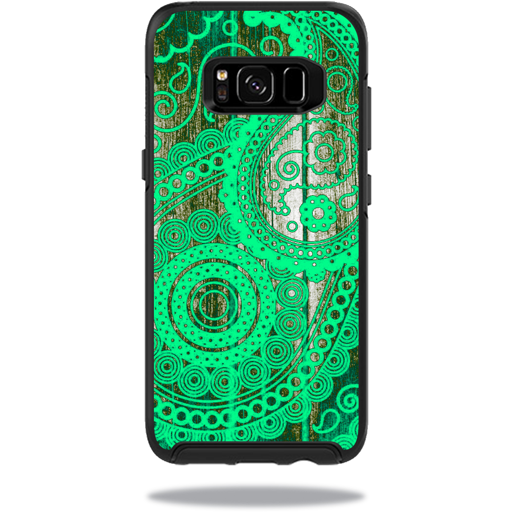 MightySkins Protective Vinyl Skin Decal for OtterBox SymmetrySamsung Galaxy S8 Case sticker wrap cover sticker skins Vintage Paisley
