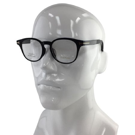 ba5f4711a02 Tom Ford 5400-F 001 Black Plastic Eyeglasses 49mm - Walmart.com