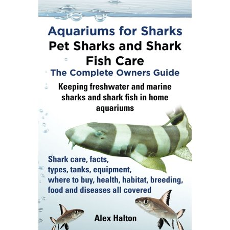 Aquariums for Sharks: Pet Sharks and Shark Fish Care; The Complete Owner's Guide - eBook ()