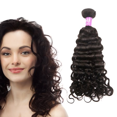 Unique Bargains Italian Curly Human Hair Extension 12