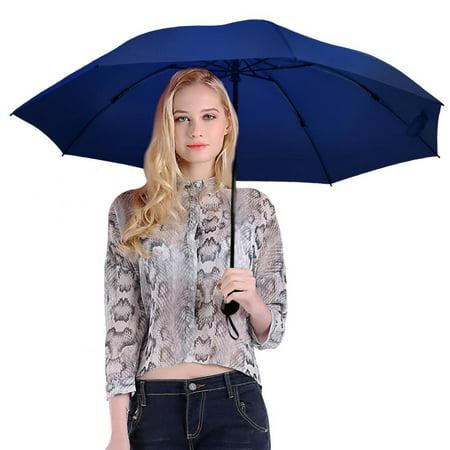 Travel Umbrella,Auto Open Close Folding Lightweight Compact Portable Windproof Rain Umbrellas ()