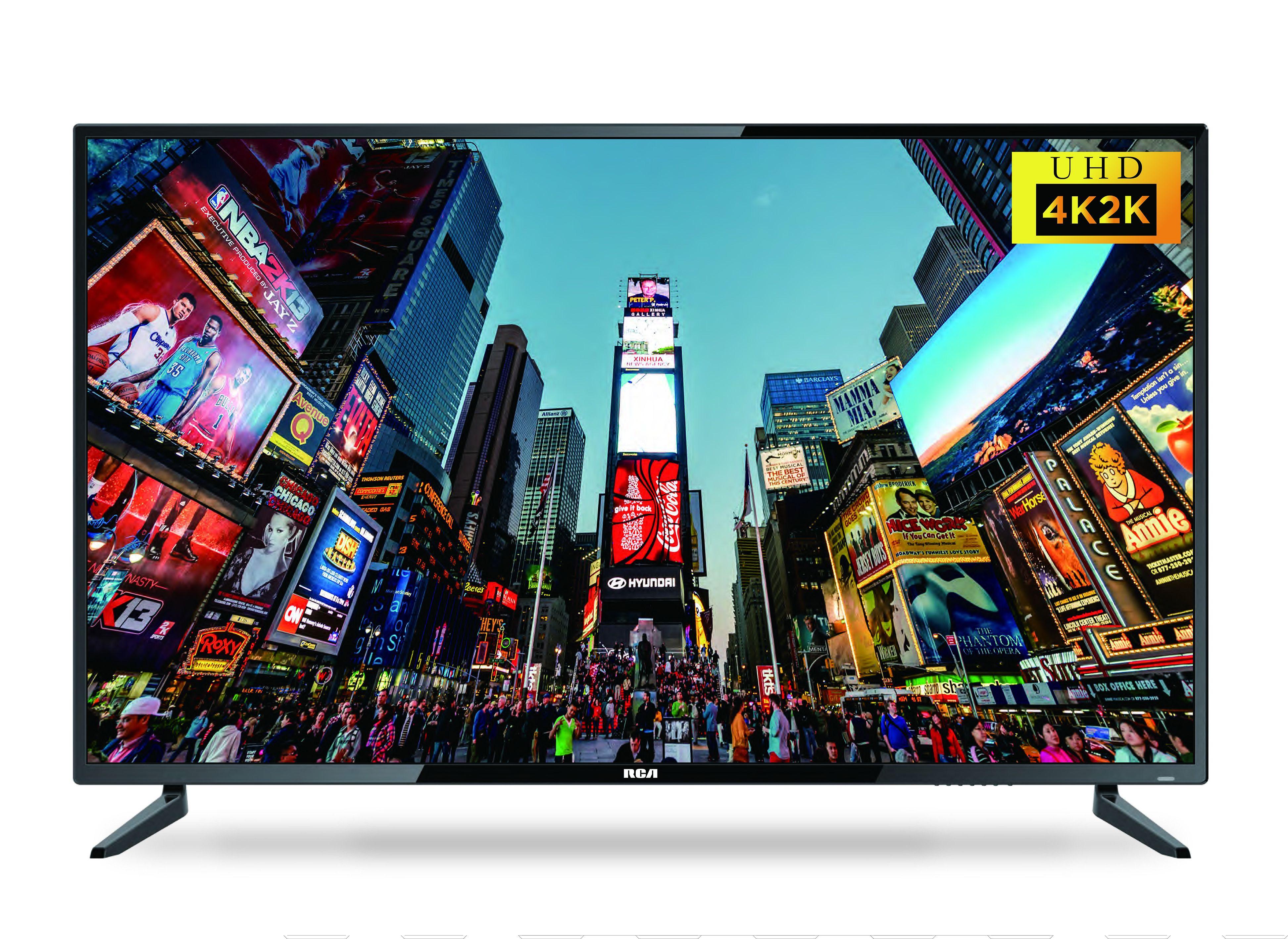 """RCA RTU5540 55"""" 4K LED UHDTV"""