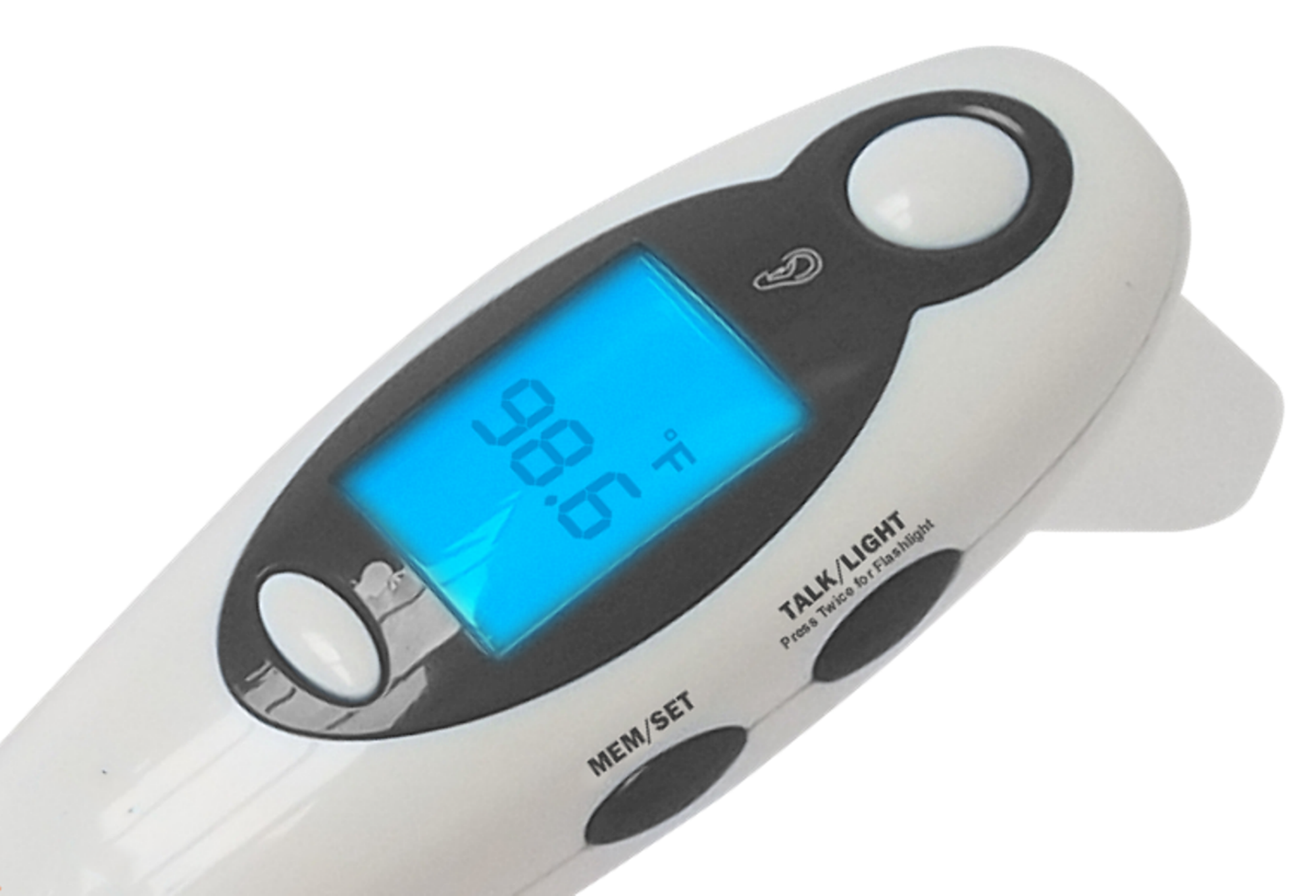 MOBI DualScan Digital Ear and Forehead Thermometer with Flashlight ...