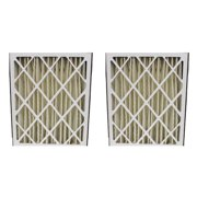 Crucial Amana Pleated Furnace Air Filter (Set of 2)