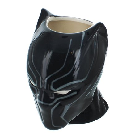Black Panther Sculpted 16oz Ceramic Mug (Sculpted Ceramic)