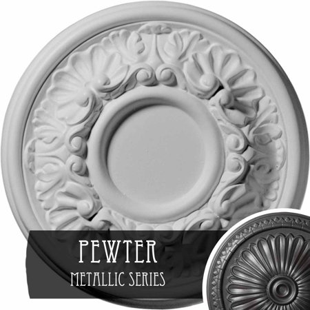 7 1 2 OD x 1 1 8 P Odessa Ceiling Medallion Fits Canopies up to 2 1 2