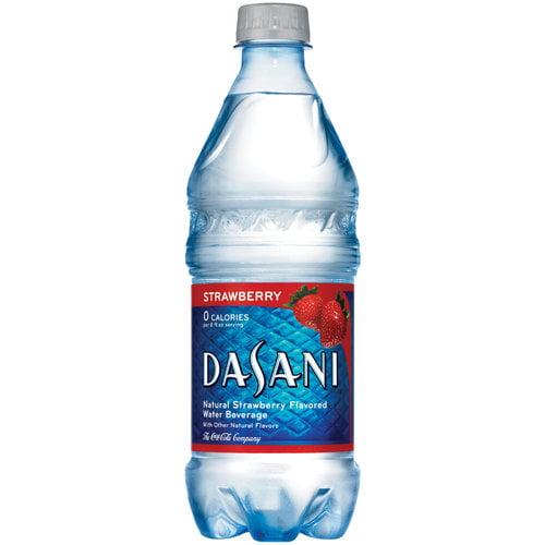 Dasani Strawberry Water Beverage, 20 Fl