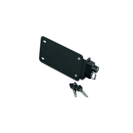 Kuryakyn License Plate Mounting Plate With Helmet Lock    4248