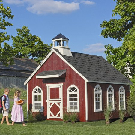 Little Cottage 8 X 8 Stratford Schoolhouse Wood Playhouse