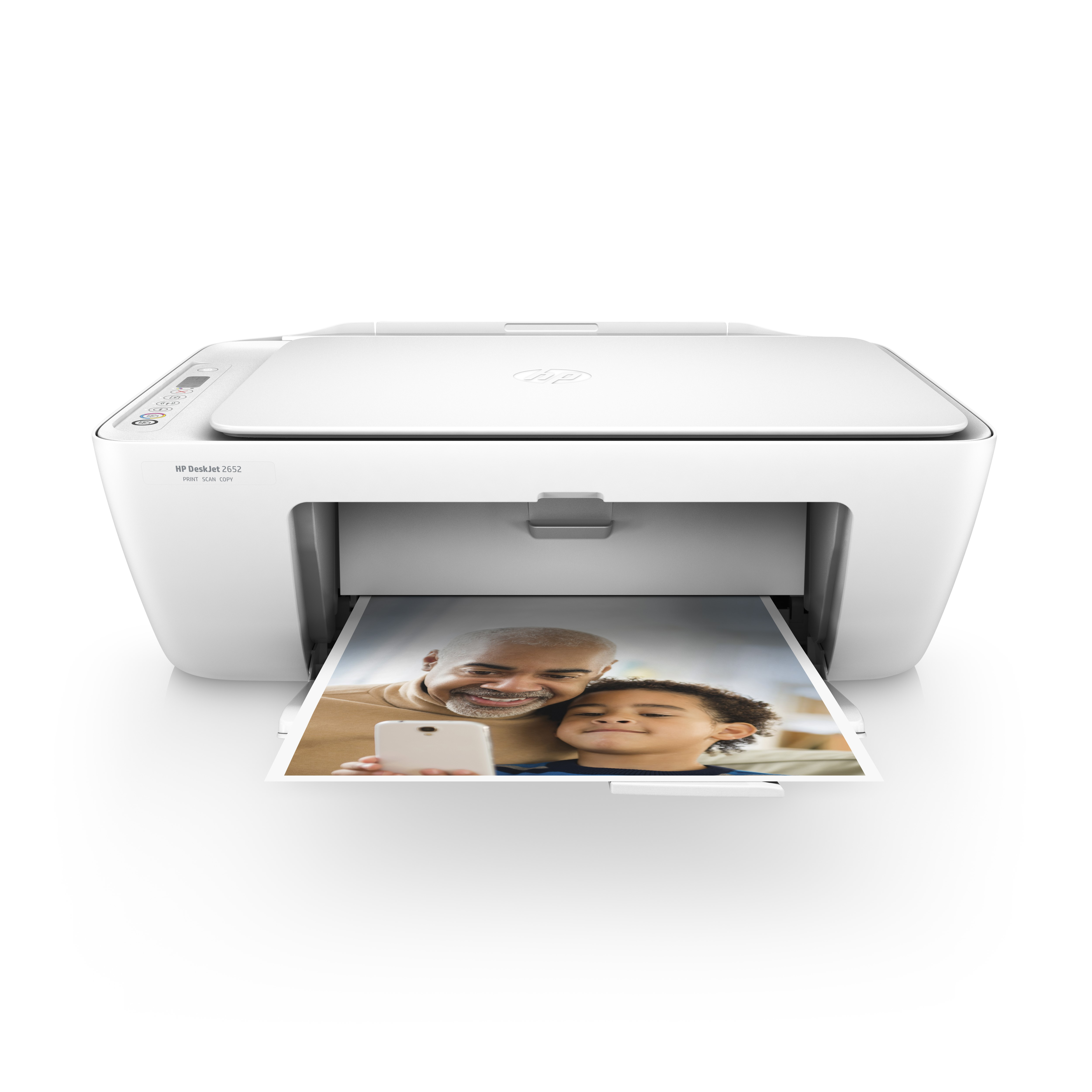 image about Inkjet Printable Vinyl Walmart named HP DeskJet 2652 Wi-fi All-within-A person Colour Inkjet Printer