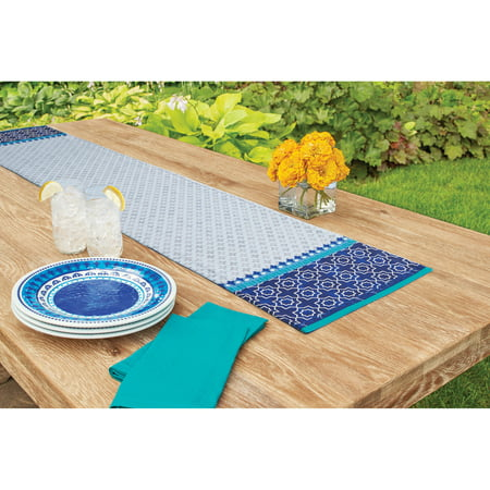 Better Homes And Gardens Indigo Border Runner