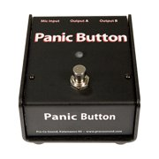 Pro Co Panic Button Mic A/B Box