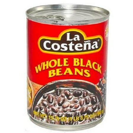 Product Of La Costena, Whole Black Beans, Count 1 - Mexican Food / Grab Varieties & Flavors