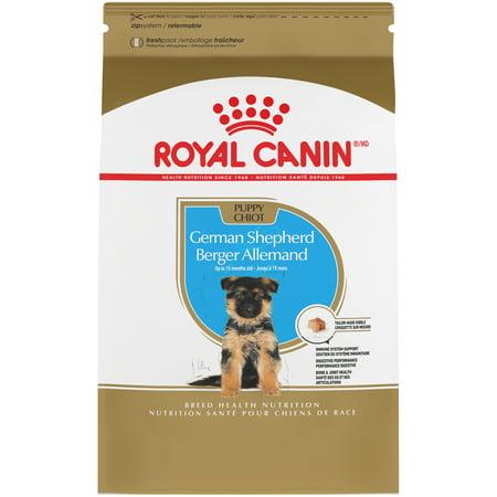 Royal Canin German Shepherd Puppy Dry Dog Food, 30 (German Shepherd Best Food To Feed)