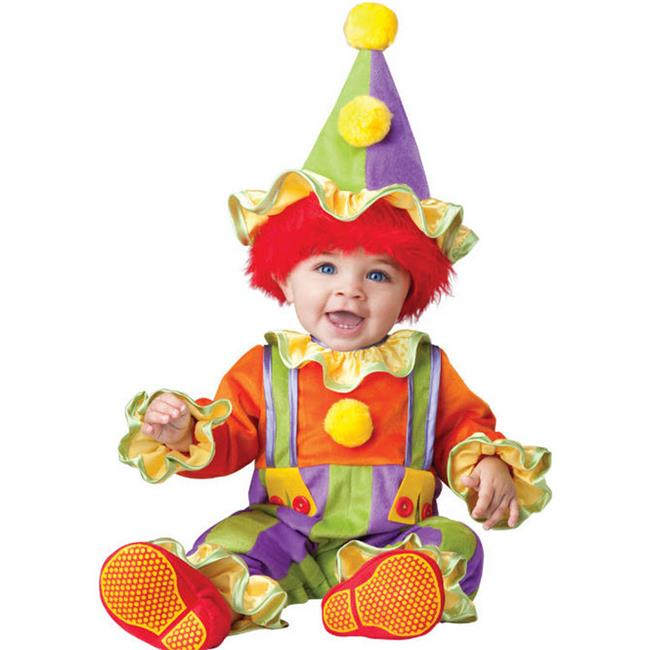 Costumes for all Occasions IC6049TL Cuddly Clown Toddler 18-2t