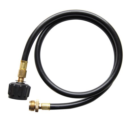 Cuisinart® LP Adapter 4-Foot Hose - Connect To Your Portable Gas Grill To A 20 LB Propane Tank Tired of running out of propane and having to keep changing those tiny 1 LB propane canisters? Turn your portable gas grill into a permanent gas grill with the Cuisinart 4 Foot LP Adaptor Hose. Simply use this adaptor and connect a 20 LB propane tank and grill for up to whole season without running out. And if you want to take your portable grill on the road, simply disconnect the adaptor hose and be on your way.