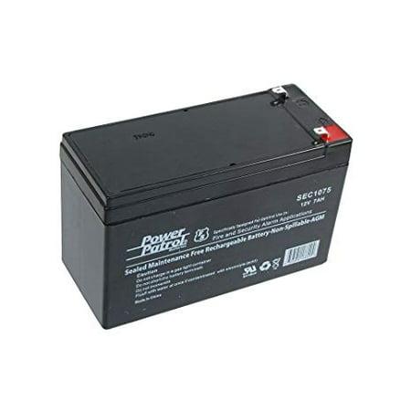 12 Volt 7 Amp Hour Sealed Lead Acid Battery (12v7ah , 12v 7ah , 12 V 7 Ah) Replacement