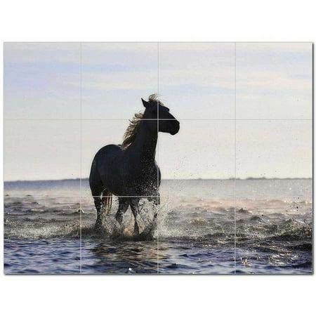 Horse Ceramic Tile Mural Kitchen Backsplash Bathroom Shower 402859 S43