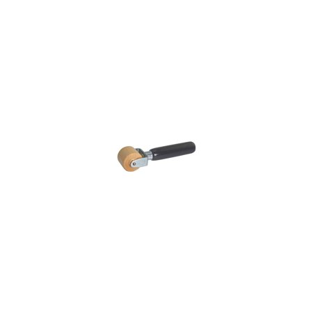 Wide Roller - MACs Auto Parts  28-52302 Hardwood Roller - 1-1/4 Wide - With Black Painted Hardwood Handle