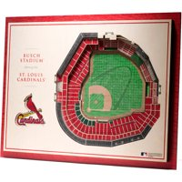 St. Louis Cardinals 17'' x 13'' 5-Layer StadiumViews 3D Wall Art